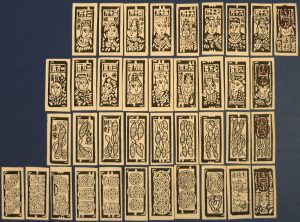 19th century Chinese Money Cards