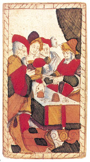 Le Bateleur Tarot de Catelin Geoffrey 1557