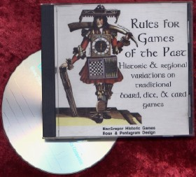 """Rules for Games of the Past"" CD-rom"